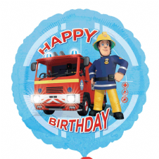 Fireman Sam 'Happy Birthday' Foil Helium Balloon